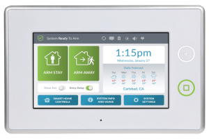 Charleston Home Security Touchscreen Keypad Panel