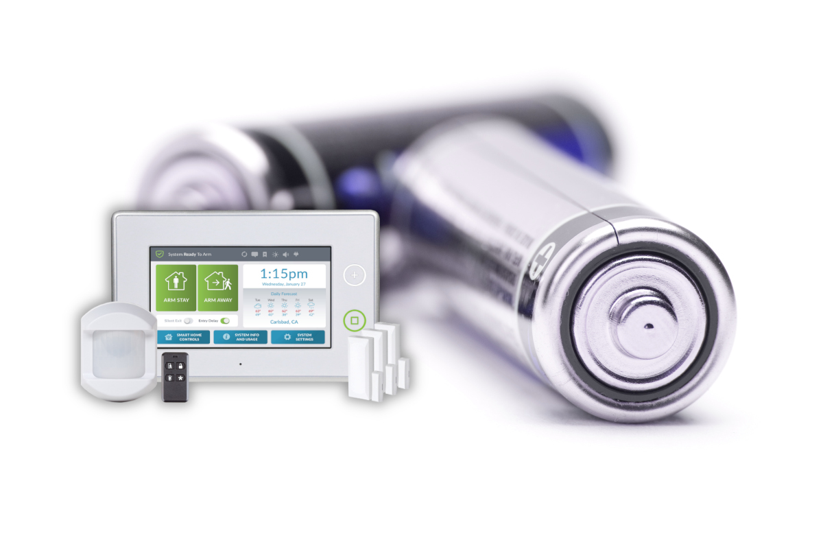 Changing Home Security Batteries Charleston SC