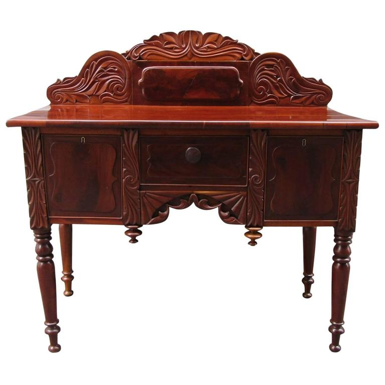 19th Century Barbados Regency Mahogany and Cedrela Cupping Table