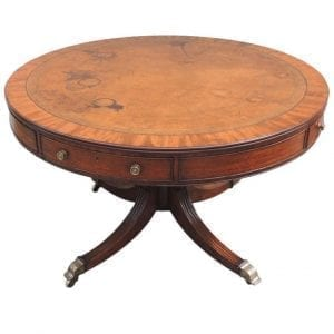 19th Century English Regency Mahogany Rent Table