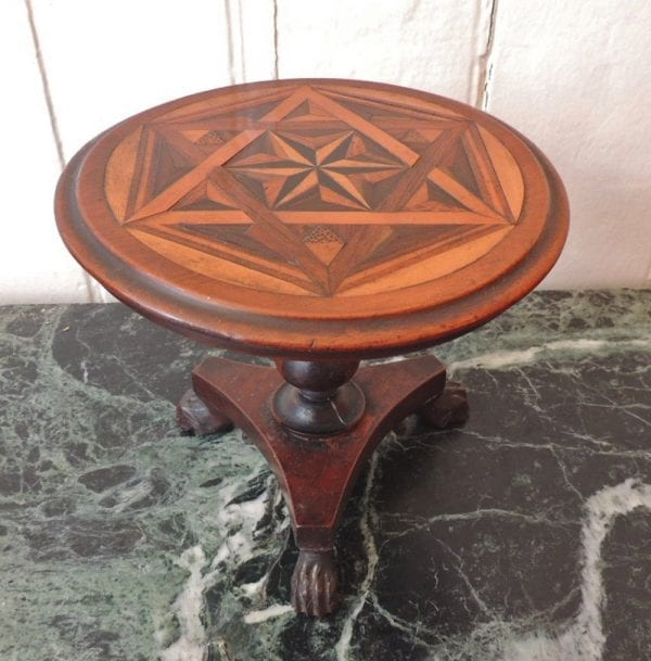 19th Century Jamaican Miniature Specimen Table, attributed to Ralph Turnbull