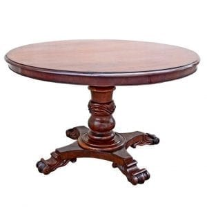 19th Century St. Croix Regency Tilt-Top Table
