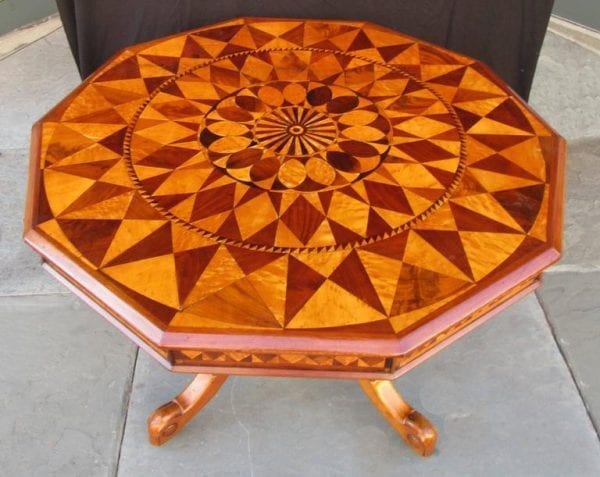 19th Century West Indies Regency Specimen Top Table