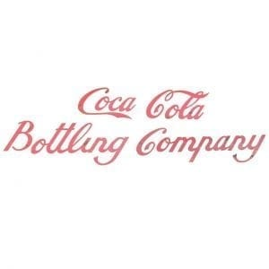 20th Century Coca Cola Bottling Company Sign