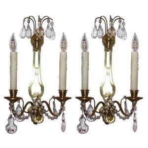 Pair of 20th Century French Directoire Style Sconces