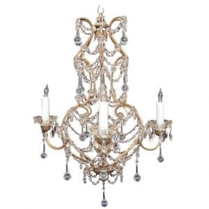 20th Century Venetian Crystal Chandelier