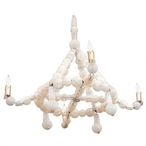 20th Century Venetian Glass Chandelier