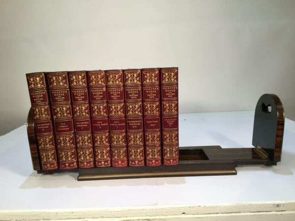 Late 19th Century Parkins & Gotto Sliding and Folding Coromandel Bookends