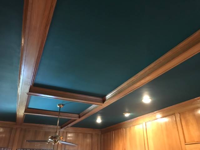 Ceiling Painting 1 - Before
