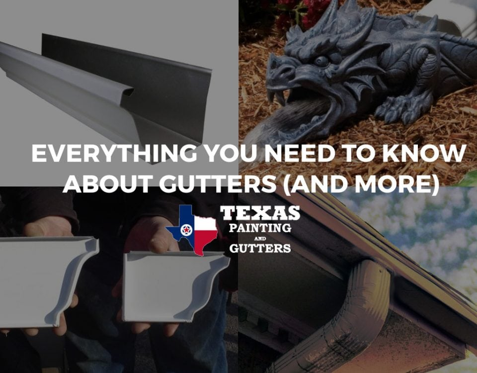 All You Need To Know About Gutters in Plano, TX