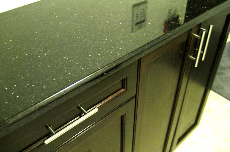 Black Painted Kitchen Cabinets Frisco TX