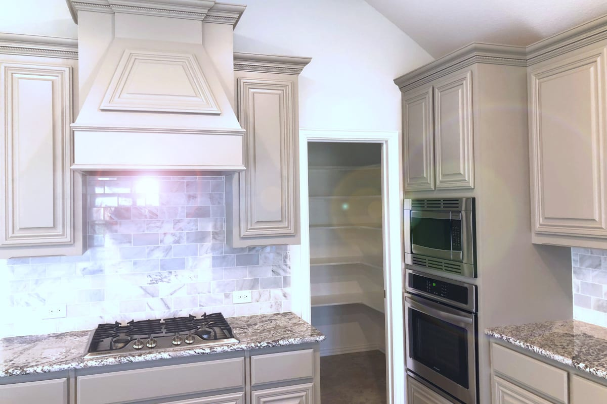 4 Inspiring Kitchen Cabinet Painting Ideas For Your Home In Texas Texas Painting And Gutters
