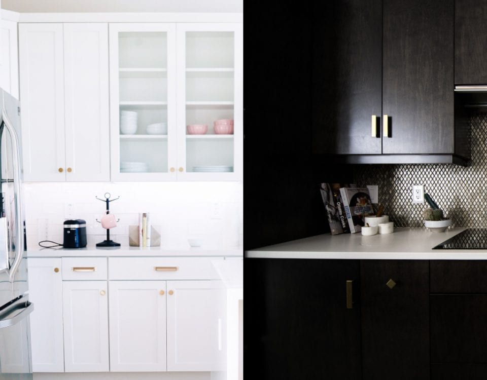 Light or Dark Kitchen Cabinet Paint