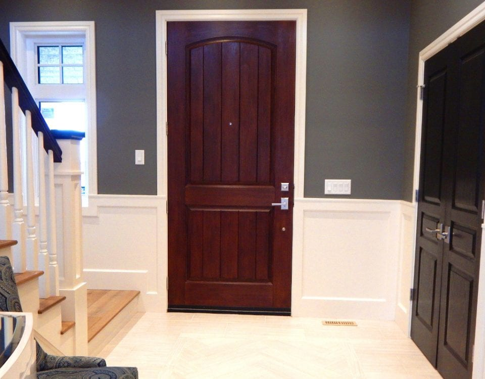 Entryway Interior Paint Project in Plano, TX