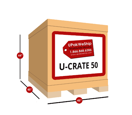 U-CRATE 50 International Self Packing