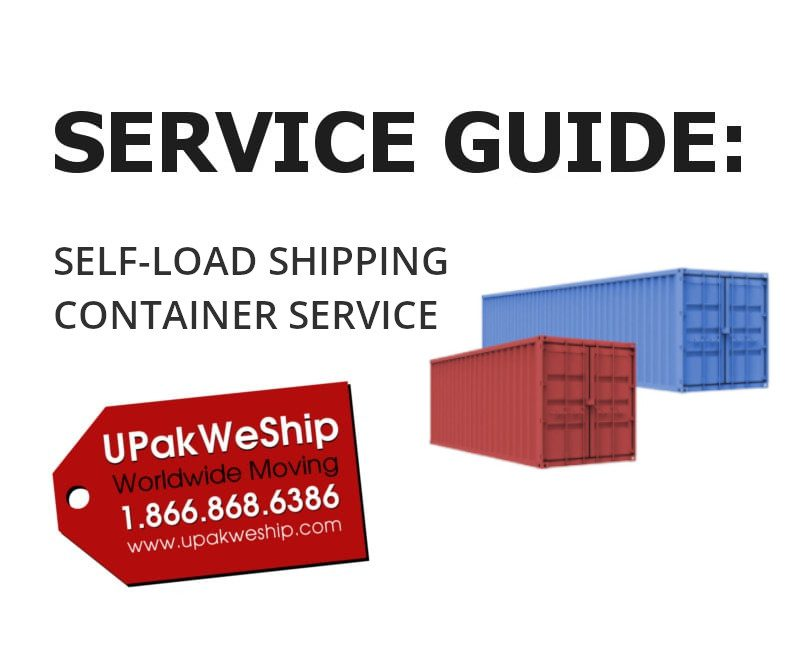 Shipping Container Service Guide Page