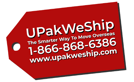 UPakWeShip International Moving Company