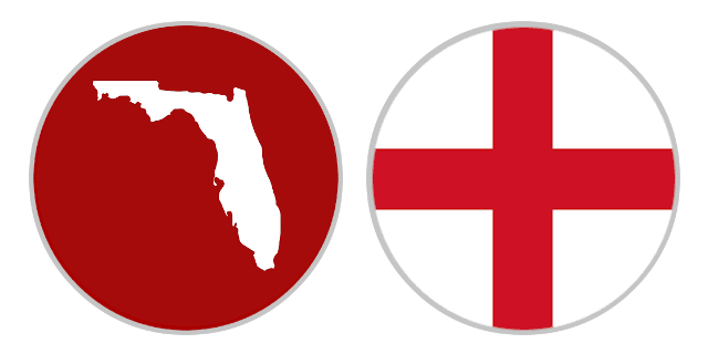 International Shipping Rates From Florida To England