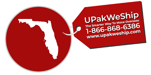 International Shipping From Florida With UPakWeShip