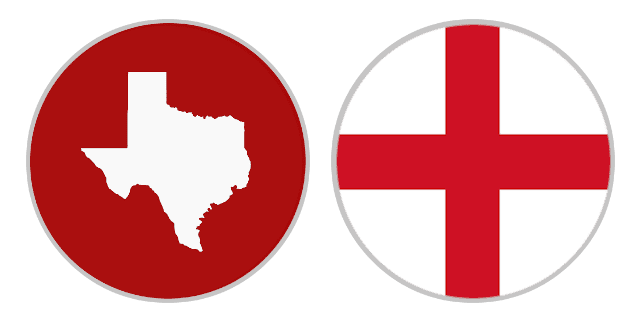 International Shipping Rates From Texas To England