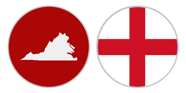 International Shipping Rates From Virginia To England