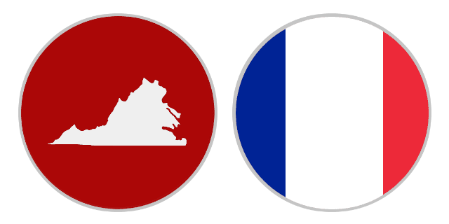 International Shipping Rates From Virginia To France