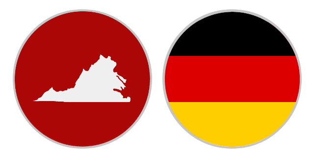 International Shipping Rates From Virginia To Germany