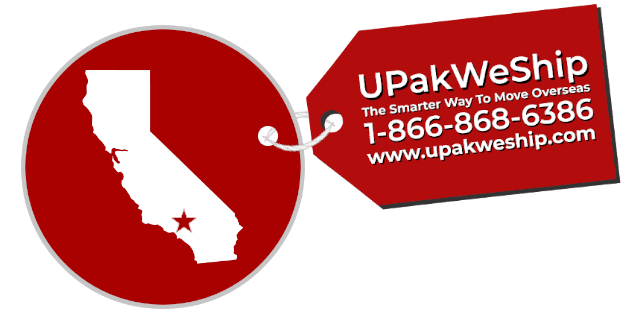 International Shipping From Los Angeles, CA With UPakWeShip